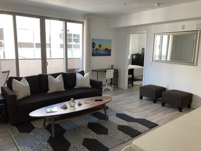 Photo for Private Condo 1/2 block to beach & HB Pier  3 bed/2 ba (3)