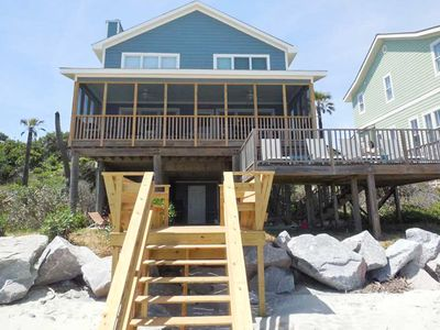 Photo for Large oceanfront home w/great outdoor space - perfect for large families!