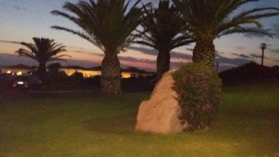Photo for Apartment with sea view 30 meters from the beach of Cala del Faro