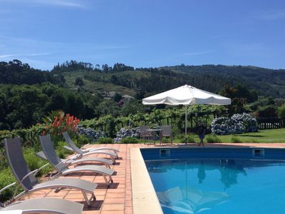 Photo for Chalet with swimming pool in ponte de lima