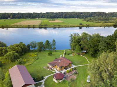 Photo for Holiday home on the bank of the river surrounded by forest