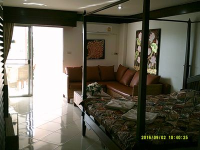 Photo for Well designed and nice decorated apartment near the beach, perfect for a couple.