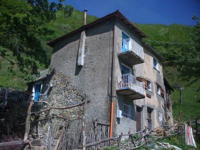 Photo for B & B Casa Laura in beautiful surroundings in the middle of the natural park near Genoa