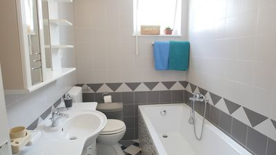 Photo for Cousy and spaceus apartment 600 m from beach