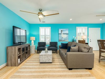 Photo for Upscale 2BR, Newly Renovated w/ Private Suites & Deck Near Beach, Shopping