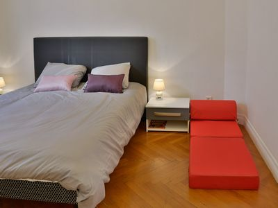 Photo for Lovely apartment for a perfect vacation in Nice center 100m from beach/promenade