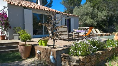Photo for Country house 5 minutes from the beach of Lecques