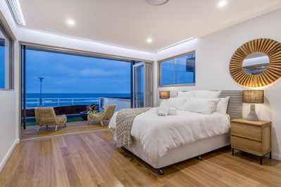 Watch the sun rise from the Master Bedroom, with spectacular ocean views