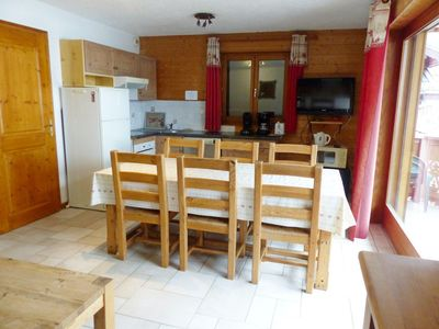 Photo for 2 roomed apartment facing the linga's slopes