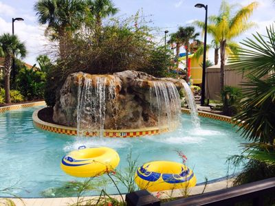 Photo for Fantasy World Club Villa sleeps 6 with water park by Disney World