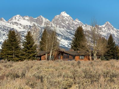 Photo for All season retreat! Grand Teton National Park with Teton views.