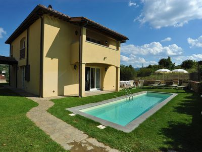 Photo for Stunning Villa with private pool in Greve in Chianti