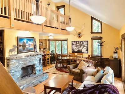 Photo for Newly Renovated - Secluded 4 Bdrm - 3 Bath Ski House Right off Access Rd Hot-Tub