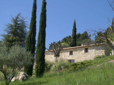 Photo for Villa with private pool near Cotignac in a beautiful spot with magnificent view