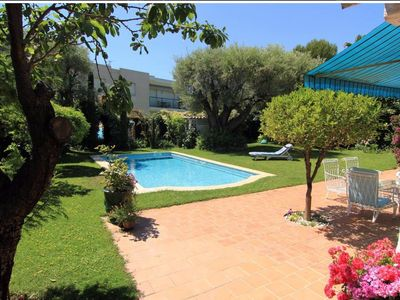 Photo for Charming Provencal house, with pool, downtown Juan les Pins / Antibes