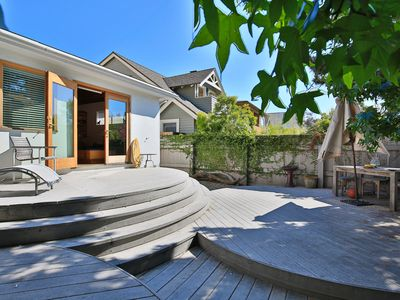 Photo for 3 Bedroom Beach House with Private Yard, Steps from Sand in Venice Beach