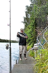Photo for RV 2 w/ PRIVATE FISHING DOCK ON FAMOUS KENAI RIVER!!