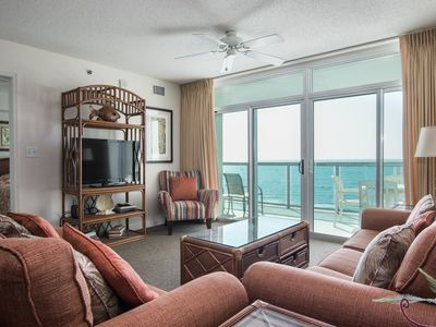 Photo for Spacious 3 bedroom condo overlooking the ocean! | Blue Water Keyes -  906