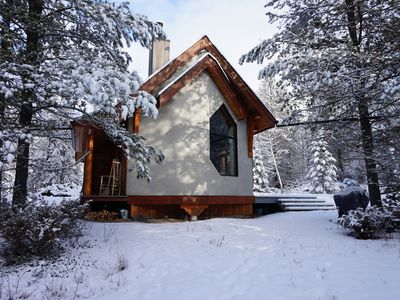 Photo for Beautiful eco-building in the heart of the Rocky mountains