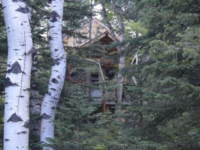 Rustic Cabin in the Black Hills with access to Forest Service trail system.