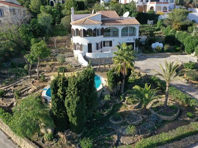 Photo for Well located 4 bed villa in very quiet relaxed area, with wifi, pool and tennis