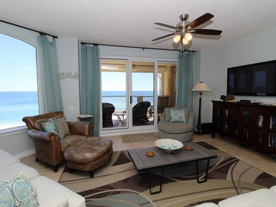 Photo for Beach Colony Tower 7B- Beach Front unit with large terrace & amazing views!