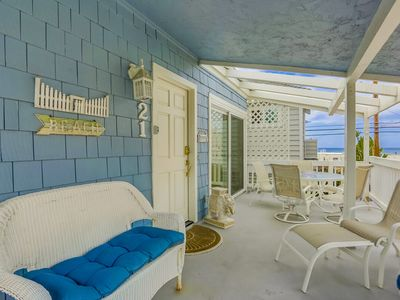 Photo for 🌅 NEW LISTING ☀️ | Outdoor Space GALORE! Enjoy our Family Beach Condo w/ Ocean Views!
