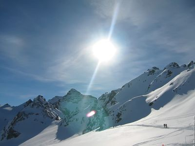 Photo for ARCS 1800: 3P HIGH STAND QUIET SUNNY VIEW MONT BLANC HEART STATION