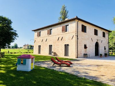 Photo for Apartment in villa of 1800 in the heart of Umbria