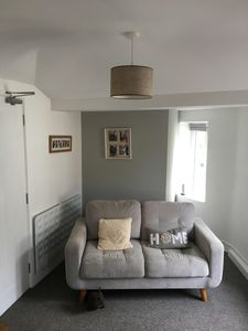 Photo for One Bedroom, First floor apartment in the heart of a Cornish village.