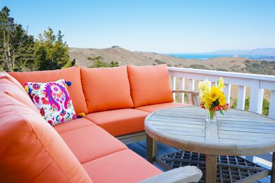 Deck - Mountain and Ocean View!
