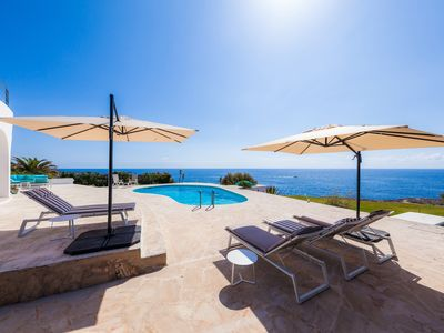 Photo for Exceptional sea view for dream vacation in Cala d'Or