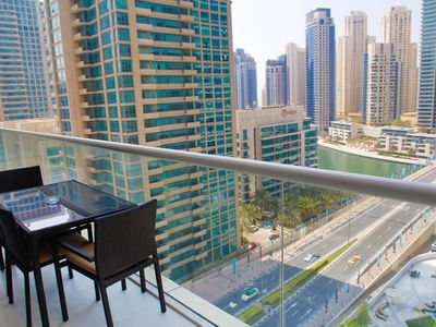 Photo for Designer Furnished Apartment in Dubai with beautiful terrace
