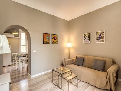 Photo for Apartment 1.1 km from the center of Rome with Internet, Air conditioning, Lift, Washing machine (18087)