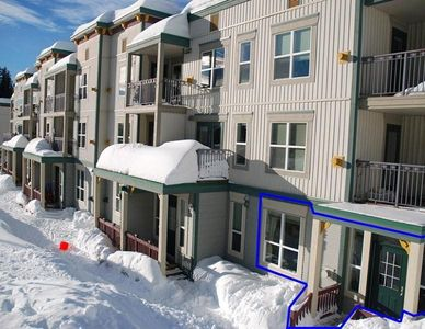 Photo for Location, Location, Location. Right At The Base Of The Ski Run -Pet Friendly