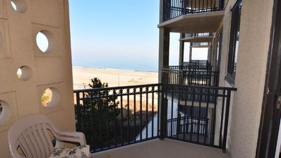 Photo for #408 Ocean Front Condo 1 Bedroom, 1 Bath, One Virginia Avenue, Rehoboth Beach DE