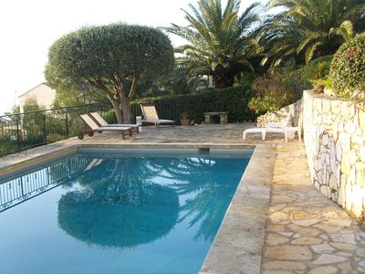 Photo for Magnificent villa with sea view 180 ° south, heated pool, 8pers to see !!