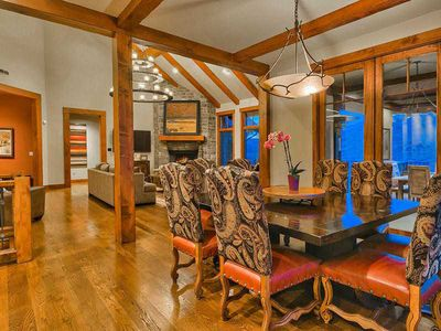 Photo for Park City Luxury Cabin in Private Gated Promontory near Ski Resorts