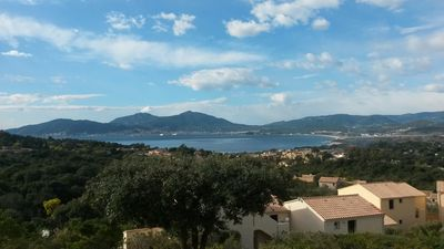 Photo for Studio on the heights of Porticcio, beautiful sea view, 5 min from the beaches