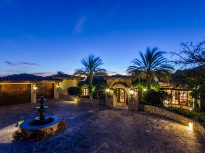 Photo for CASA SUENOS, $1m views, maid/butler, hot tub, pool, indoor gym, featured in film