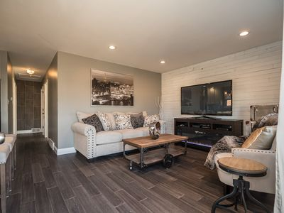 Photo for Gorgeous home, 4 bedrooms sleeps 10 with finished basement/game room.