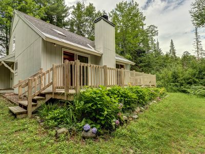 Photo for Family-friendly cabin with a deck, excellent home base for skiing