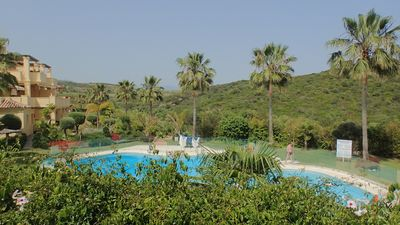 Photo for Majestic Hills, Beach, Pools, Tropical Gardens, Golf