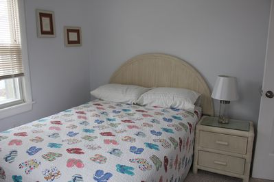 bedroom 1.....one full size bed