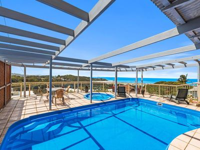Photo for Seascape at Diggers Beach - 5 bedroom, 3 bathroom, pool, ocean views