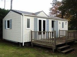 Photo for Camping La Pinede **** - Mobilhome 4 people - 4 places, idesia (between 11 and 15 years)
