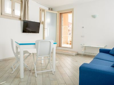 Photo for Studio Residenza del Mare centrally located at 50 mt. from the beach