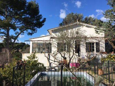 Photo for house with pool 4 bedrooms la ciotat