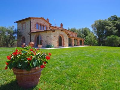 Photo for Mulino della Solaia, Arceno Rentals Club, Luxury Villa in Tuscany, pool, wifi