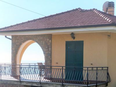 Photo for Vacation home Casa tra gli ulivi (SNM155) in Santo Stefano al Mare - 6 persons, 3 bedrooms